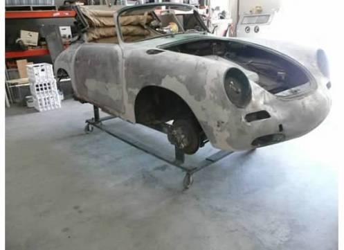 Bill Menezies 1965 356 Porsche
