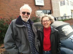 Joe Egle and his daughter Carolyn.