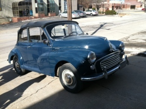joe Egle's 1967 Morris Minor