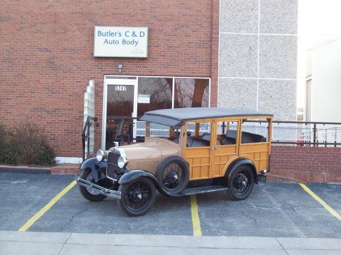 1928 Woody finished and heading to Florida